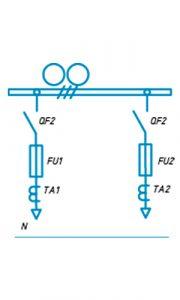 Шкафы ЩО-90 схема №12