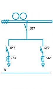 Шкафы ЩО-90 схема №14