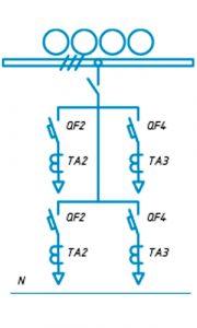 Шкафы ЩО-90 схема №15