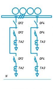 Шкафы ЩО-90 схема №16