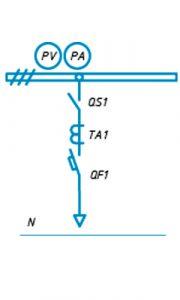 Шкафы ЩО-90 схема №17