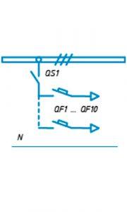 Шкафы ЩО-90 схема №18