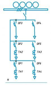 Шкафы ЩО-90 схема №19