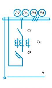 Шкаф ЩО-90 схема №2
