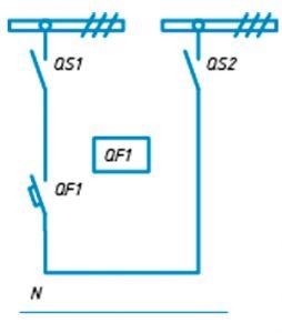 Шкафы ЩО-90 схема №23