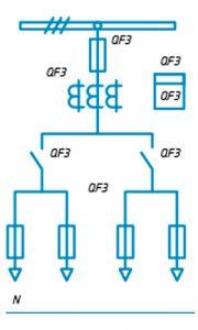 Шкафы ЩО-90 схема №24