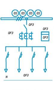 Шкафы ЩО-90 схема №25
