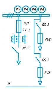 Шкаф ЩО-90 схема №3