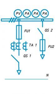 Шкаф ЩО-90 схема №5