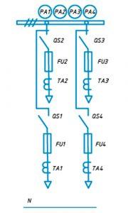 Шкафы ЩО-90 схема №7