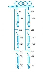 Шкафы ЩО-90 схема №9